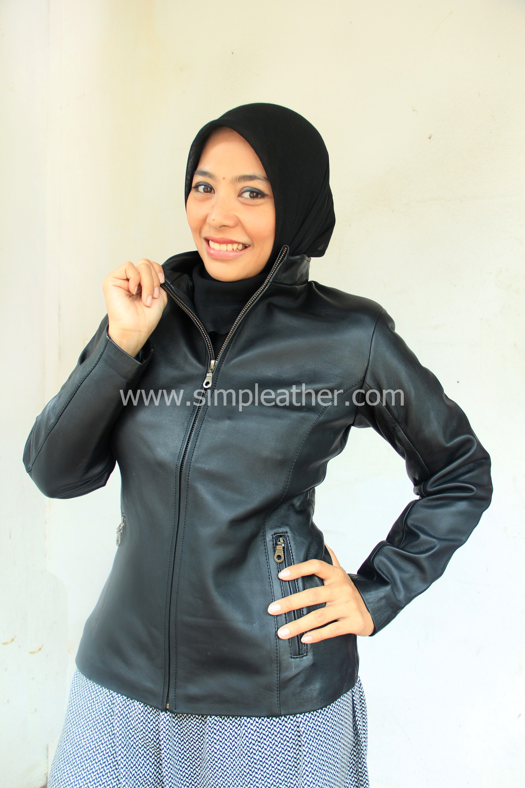 Leather Jacket WX106