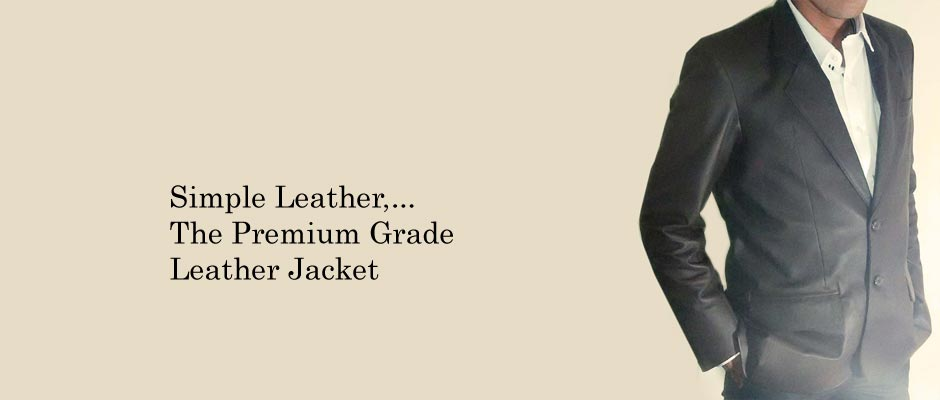 Jaket Kulit Formal Simple Leather